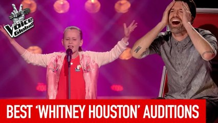 BEST WHITNEY HOUSTON Blind Auditions on The Voice Kids