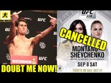 IT'S OFFICIAL UFC 228 Co-MAIN Event has been Cancelled,UFC 228 Early Weigh-Ins,Darren Till,Woodley
