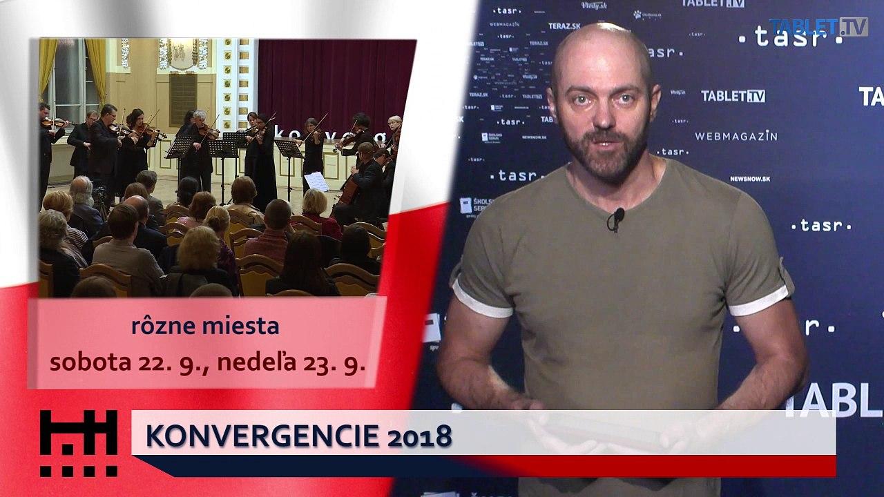 POĎ VON: Konvergencie 2018 a podujatia pre deti