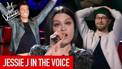 JESSIE J in The Voice   The Voice Global [PART 2]