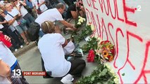 Pont Morandi (Gênes):  Suivez la minute de silence rendant hommage aux victimes un mois après la chute du pont- VIDEO