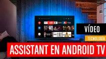 Google Assistant en Android TV