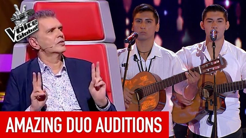 AMAZING DUO' Blind Auditions in The Voice