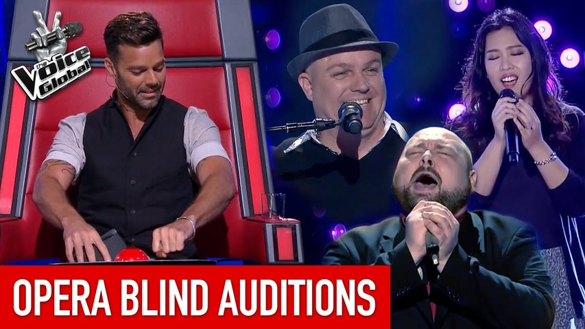 BEAUTIFUL OPERA 'Blind Auditions' in The Voice