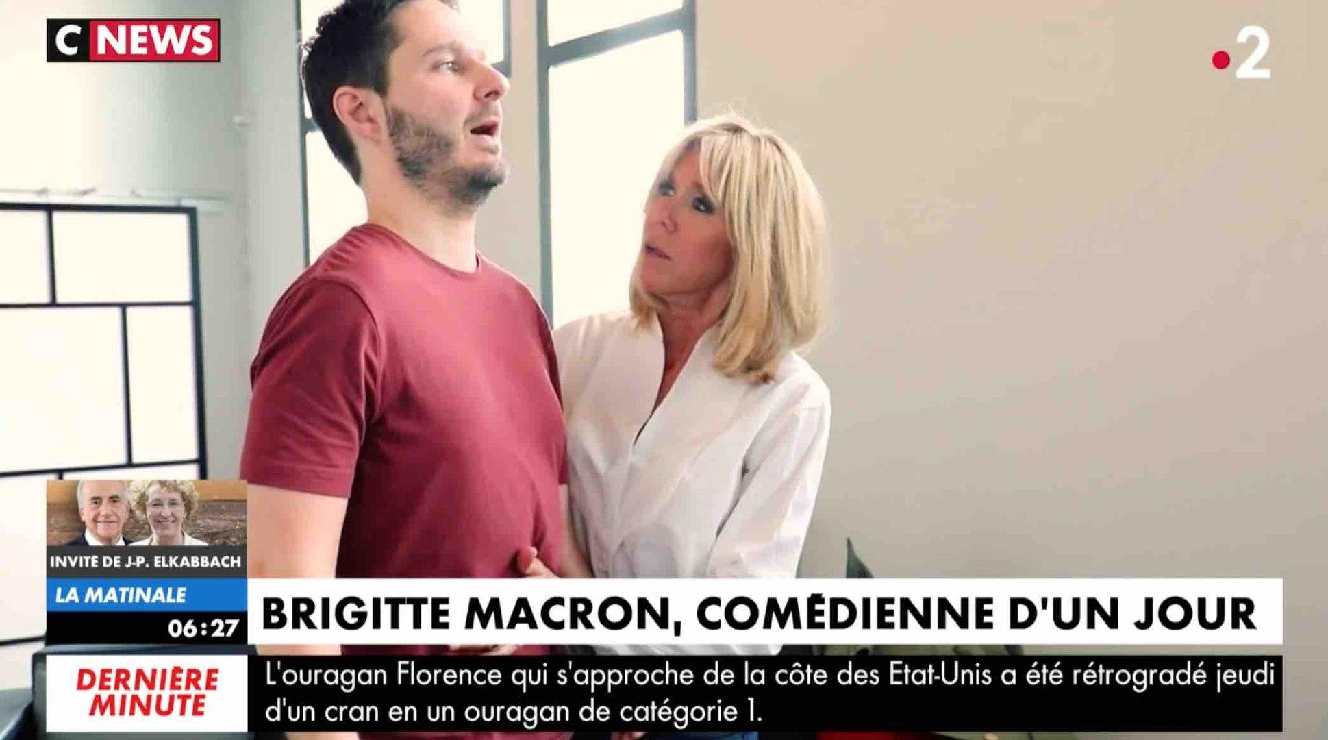 Brigitte Macron comédienne dans une série - ZAPPING ACTU HEBDO DU 15/09/2018