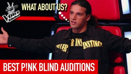The Voice   BEST P!NK Blind Auditions worldwide