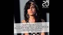 Amy Winehouse «morte totalement seule, d'une overdose d'alcool» aurait eu 35 ans