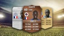 De FIFA 14 à FIFA 19, l'évolution fulgurante de N'Golo Kanté