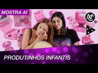 USAMOS MAKE INFANTIL (DICA: DEU RUIM!)
