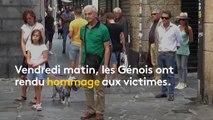 Italie : Gênes se recueille, un mois après l'effondrement du pont Morandi
