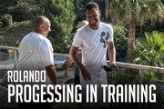 Rolando | Progressing in Training