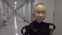 Japanese professor invents a life-like robo-kid