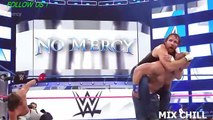 AJ Styles vs. John Cena vs. Dean Ambrose - WWE World Title Triple Threat Match- WWE No Mercy 2016