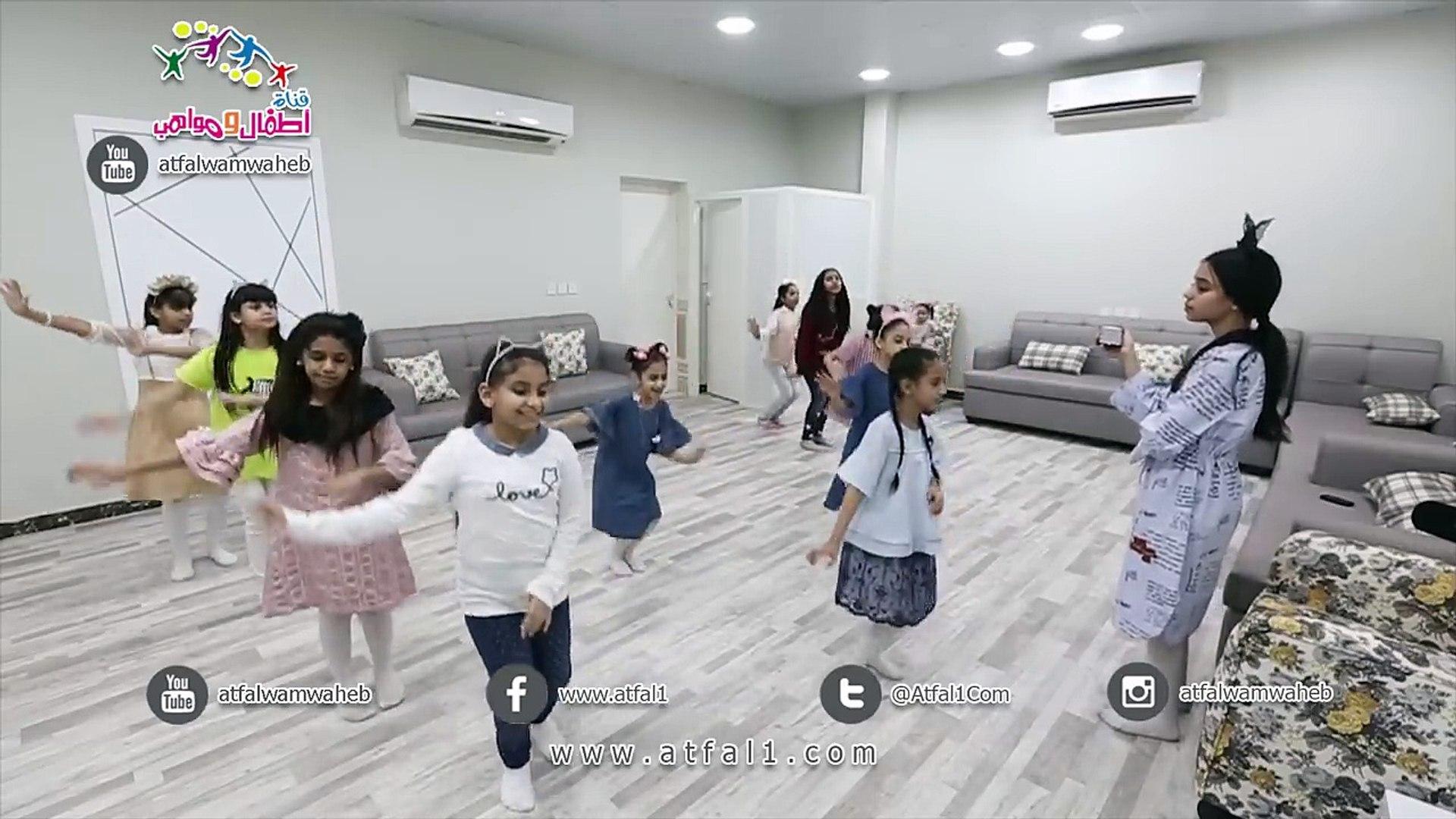 Atfalwamwaheb كواليس التدريب على نشيد جديد عن اليوم الوطني فيديو