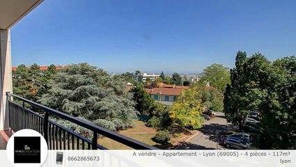 A vendre - Appartement - Lyon (69005) - 4 pièces - 117m²