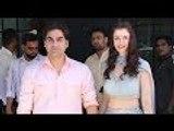 Arbaaz Khan And Girlfriend Giorgia Adriani Attend Ganpati Celebrations At Arpita Khan's Place