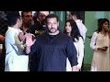 Salman Khan Visits Sister Arpita Khan's House Ganpati Celebrations!