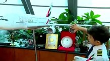 The youngest pilot in the world Captain Adam got a pilot license