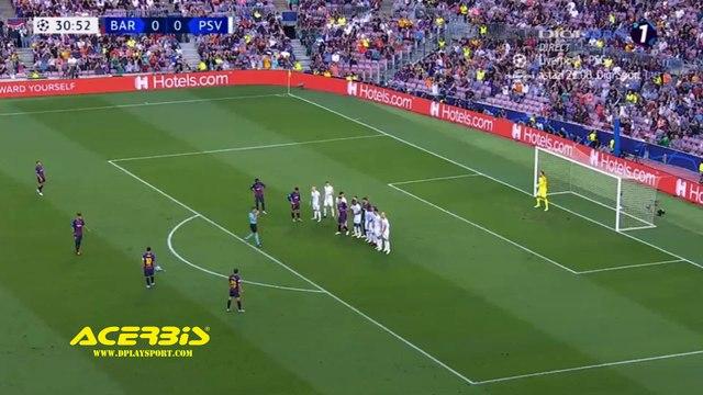 Lionel Messi Goal HD - Barcelona 1-0 PSV 18.09.2018 HD