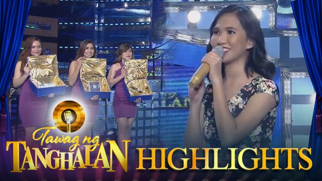 Tawag ng Tanghalan: Elaine Duran had a hard time choosing among the 'Tanghalan Treasure Boxes'
