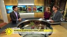 """""""Kan Annie Lööf bli statsminister nu?""""  –  Marcus svarar och förklarar - Nyhetsmorgon (TV4)"""