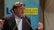 Vortrag zum Thema Asylindustrie von Dr. Udo Ulfkotte