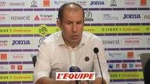 Jardim «Un bilan négatif» - Foot - L1 - Monaco
