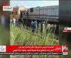 السكة الحديد تشكل لجنة فنية لمعرفة أسباب حادث قطار شبين الكوم