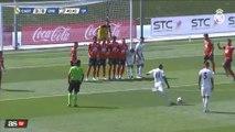 Le coup-franc millimétré de Vinícius avec le Real Madrid