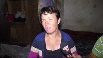 Familja e varfër në Novoselë, prindërit dhe vajza e sëmurë në qiell të hapur
