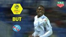 But Lebo MOTHIBA (90ème +3) / Montpellier Hérault SC - RC Strasbourg Alsace - (1-1) - (MHSC-RCSA) / 2018-19
