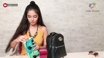 What's In My Bag With Anushka Sen | Exclusive | India Forums