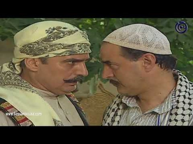 ليالي الصالحية ـ عمر عم يهدد المخرز اذا بشوفو بالحارة ـ بسام كوسا ـ عباس النوري