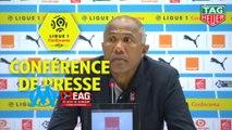 Conférence de presse Olympique de Marseille - EA Guingamp (4-0) : Rudi GARCIA (OM) - Antoine  KOMBOUARE (EAG) / 2018-19
