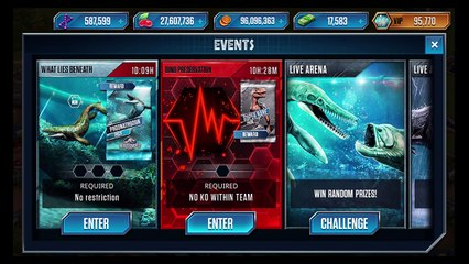 World Event Ends Island Rumble w⁄ Dino Preservation - Jurassic World The Game