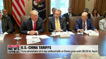 Trump administration set to slap additional tariffs on Chinese goods worth US$200 bil.: Report