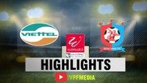 Viettel chạm 1 tay vào chức vô địch sau thắng lợi nhẹ nhàng trước Bình Định - VPF Media