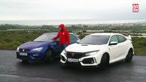 VÍDEO: Seat Leon Cupra vs Honda Civic Type R (2018)