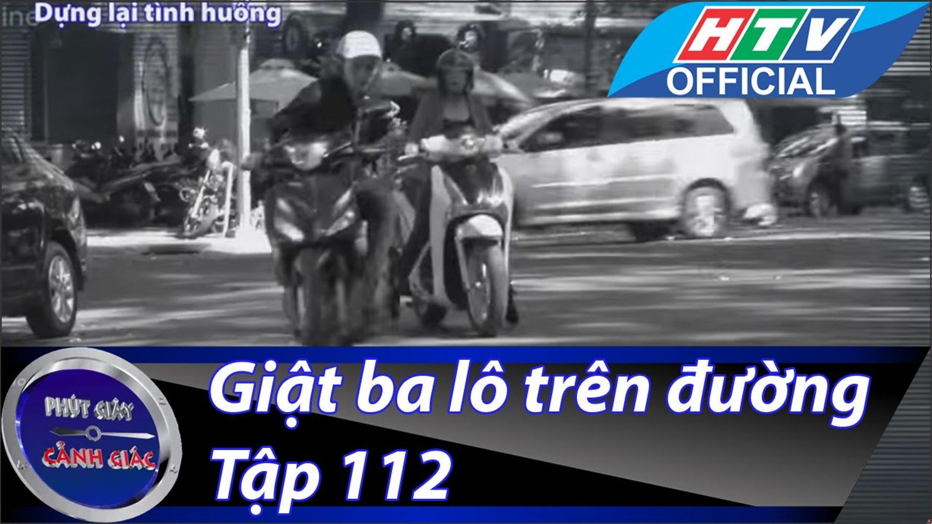 Phút giây cảnh giác - Tập 8 - Giật ba lô trên đường - HTV