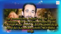 Zeigt ein Video, wie Daniel Küblböck ins Meer stürzt?