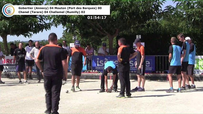 Secondes parties de poules, première étape du Super  16 Masculin, Saint-Pierre de Chérennes 2018