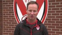 Holbrook on Saints League shield win & Warrington