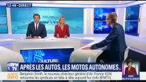 Après les voitures, les motos autonomes
