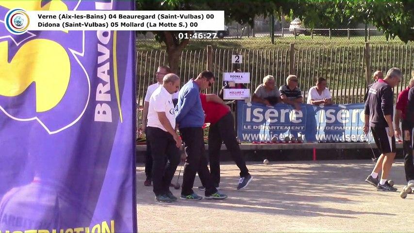 Premières parties de poules, première étape du Super  16 Masculin, Saint-Pierre de Chérennes 2018