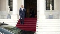 Güney Kıbrıs Rum Yönetimi lideri Anastasiadis, Yunanistan Başbakanı Çipras ile görüştü - ATİNA