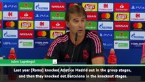 Lopetegui and Ramos look ahead to Champions League opener v Roma