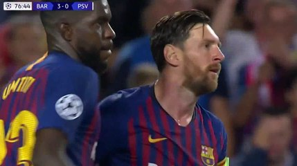 7aaff36dd FC Barcelona - PSV Eindhoven - skrót meczu. Bramki, statystyki, strzelcy,  wideo, wynik - 18-09-2018 - Meczyki.pl