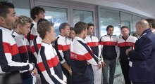Les champions d'Europe jeunes récompensés à Lille