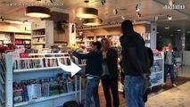 Jamel Debbouze et Kev Adams rejouent la bagarre Booba-Kaaris