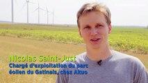 Dans les coulisses d'une eolienne - vidéo proposée par Enedis